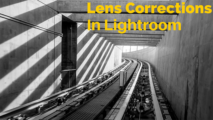 lens corrections tool in lightroom