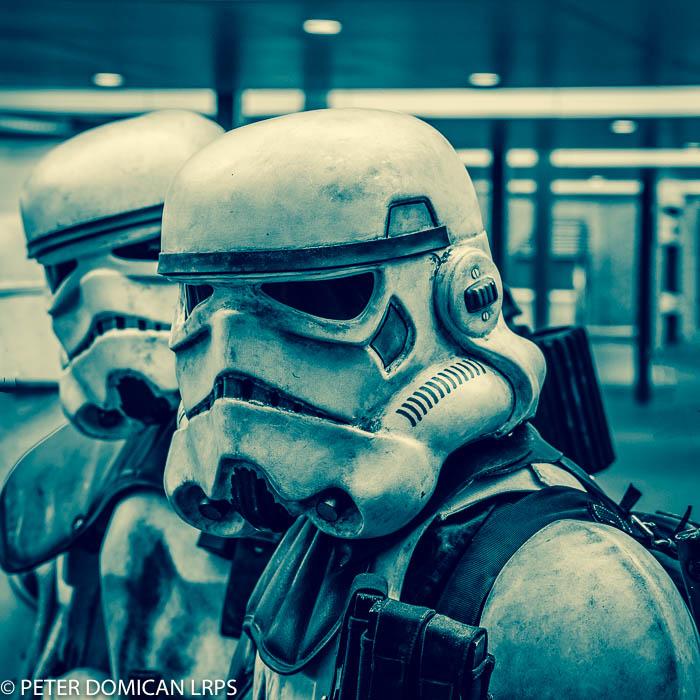 monthly edit, star wars, storm trooper, peter domican