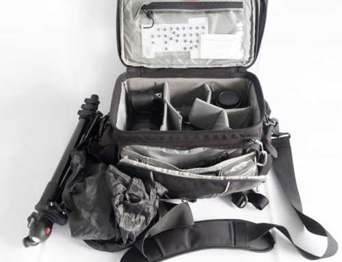 Grab bag – what I pack to always be ready.